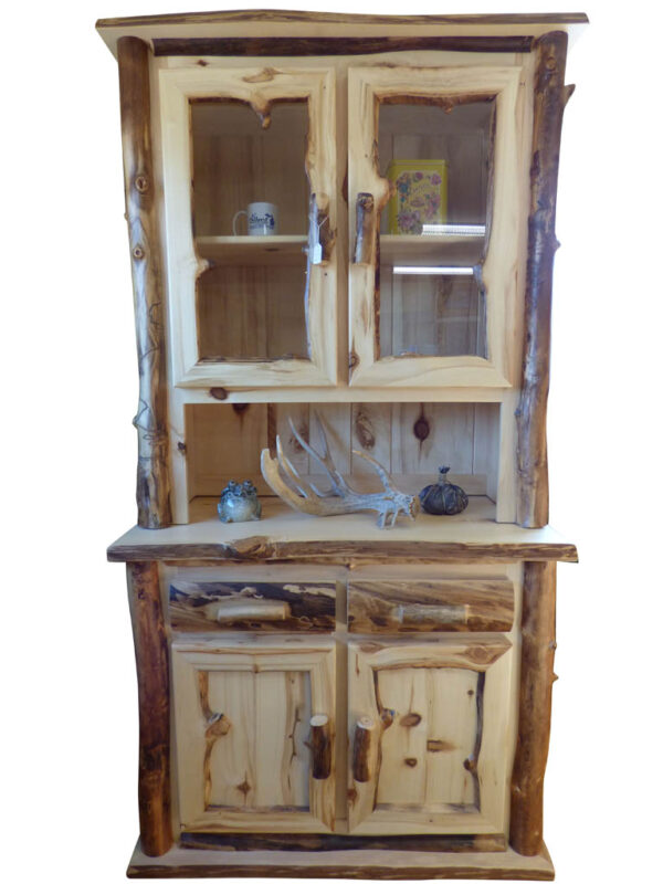 Aspen Hutch - Front View with white background