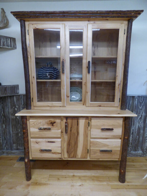 Hickory Hutch in showroom