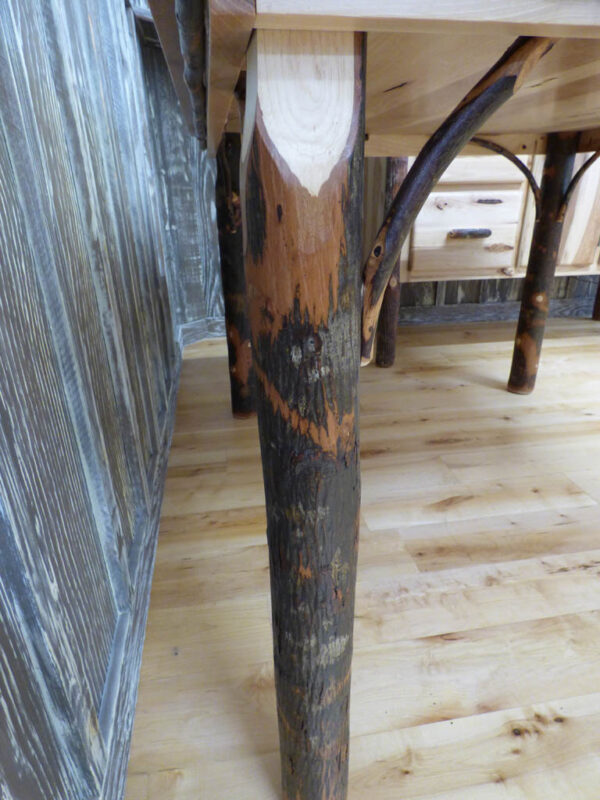 Hickory Dining Table - Table Leg
