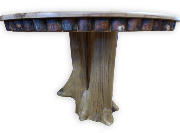 Hickory Round Kitchen Table