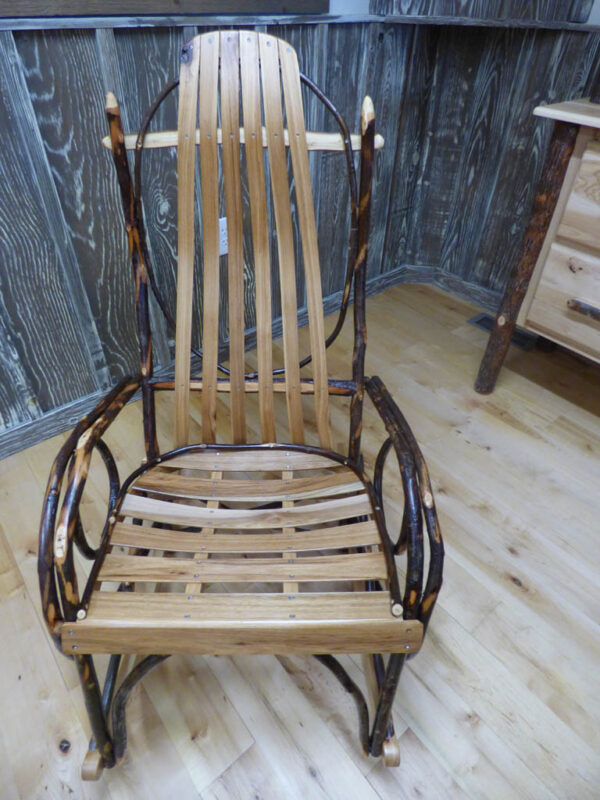 Hickory Rocker - front view