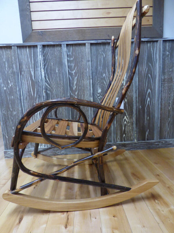 Hickory Rocker side view