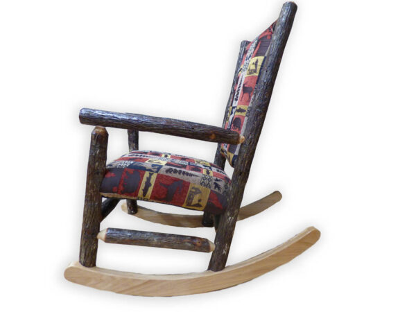 Amish Rocking Chair - Side View