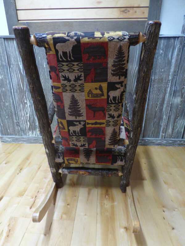 Back of Amish Rocking Chair