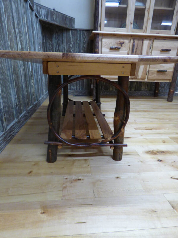 Hickory Coffee Table - Side View