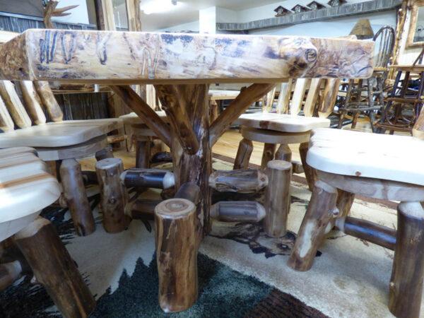Aspen Poker Table - Side View