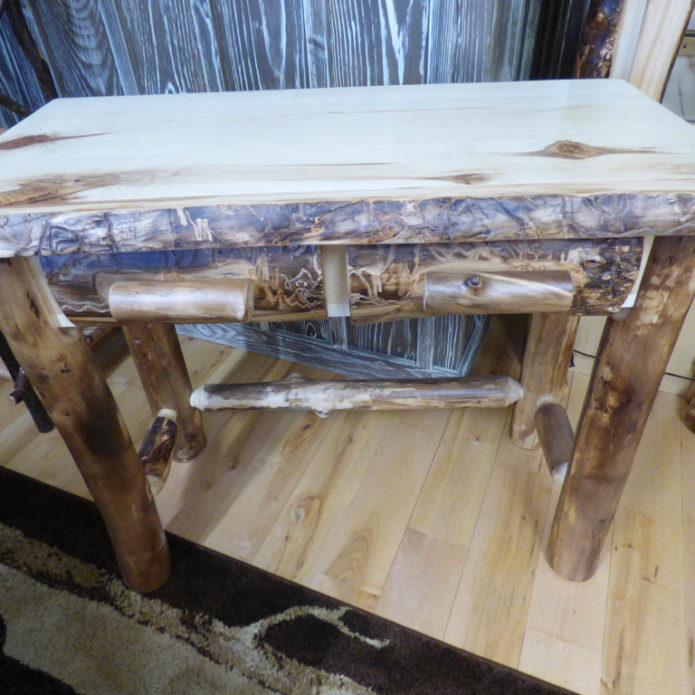 Aspen 2 drawer writing desk