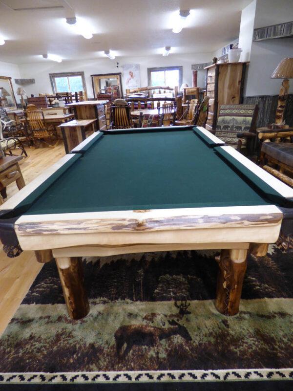 Aspen Pool Table in Showroom