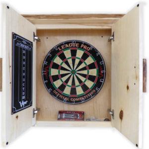Dart Board Cabinet Interior