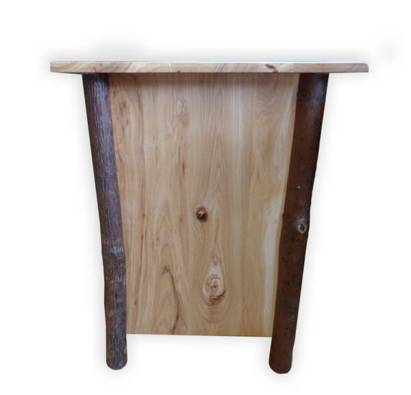 Hickory One Drawer Night Stand - Side View