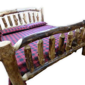 Amish Bed Frame - 3/4 view