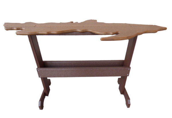 Upper Michigan Table - wood colored