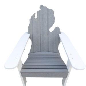 Michigan Adirondack Stationary Chair in grey