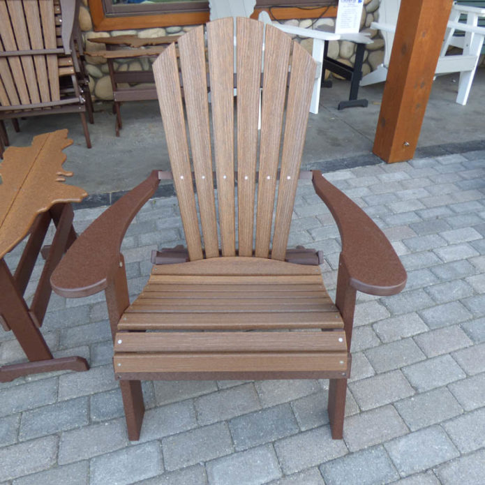 Outdoor Adirondack Stationary Chair