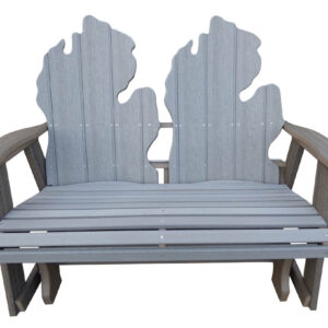 Outdoor Poly Michigan Bench