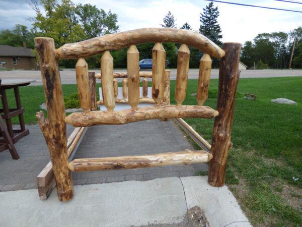 Amish Bed Frame - outside