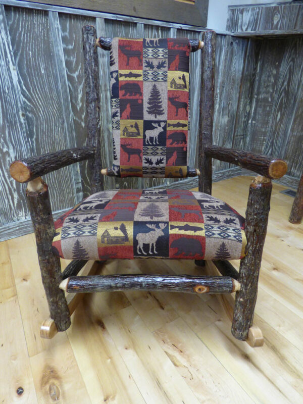 Amish Rocking Chair - Front View