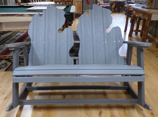 Double Gliding Michigan Chair