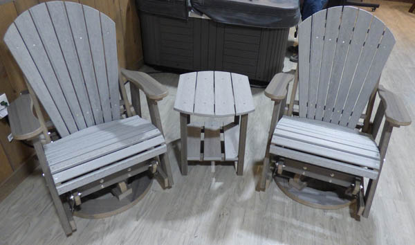 Swivel Glider Chair Set