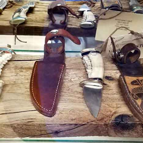 handmade amish knives